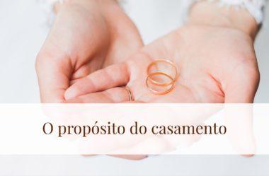 Propósito no casamento – Os sete princípios para dar certo