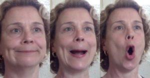 ginástica facial exercício 3