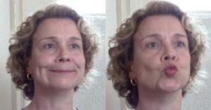 ginástica facial exercício 4