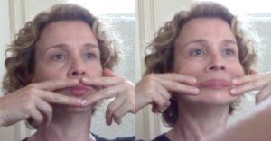 ginástica facial exercício 5