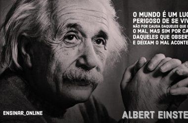 Top 10 Frases de Albert Einstein que Bombam nas Redes Sociais